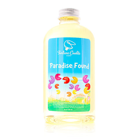 PARADISE FOUND Bath Oil - Fortune Cookie Soap