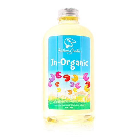 IN-ORGANIC Bath Oil - Fortune Cookie Soap