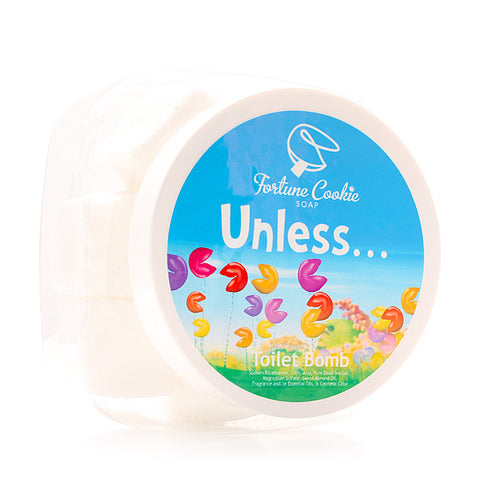 UNLESS... Toilet Bomb - Fortune Cookie Soap - 1