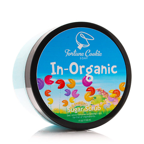 IN-ORGANIC Sugar Scrub - Fortune Cookie Soap
