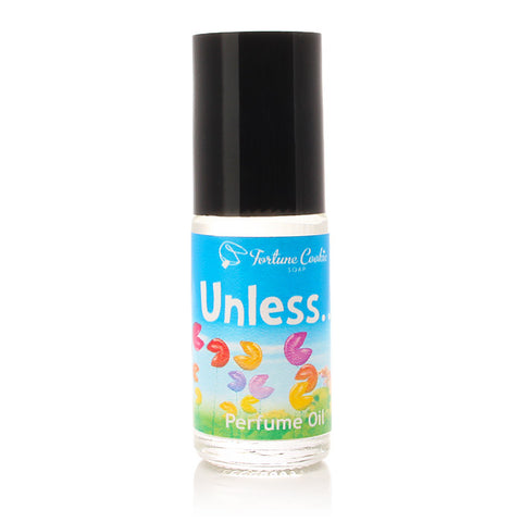 UNLESS... Roll On Perfume Oil - Fortune Cookie Soap