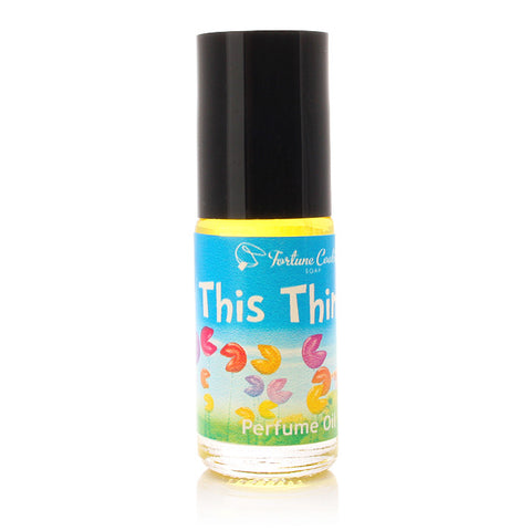 THIS THING? Roll On Perfume Oil - Fortune Cookie Soap
