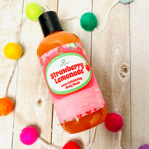 STRAWBERRY LEMONADE Lava Exfoliating Body Wash