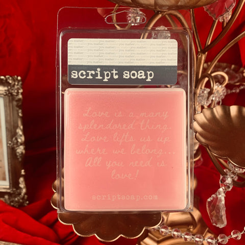 LOVE IS A MANY SPLENDORED THING... Script Soap