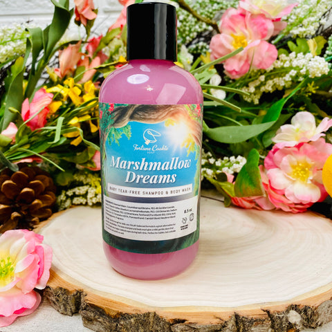 MARSHMALLOW DREAMS Baby Tear-Free Shampoo & Body Wash