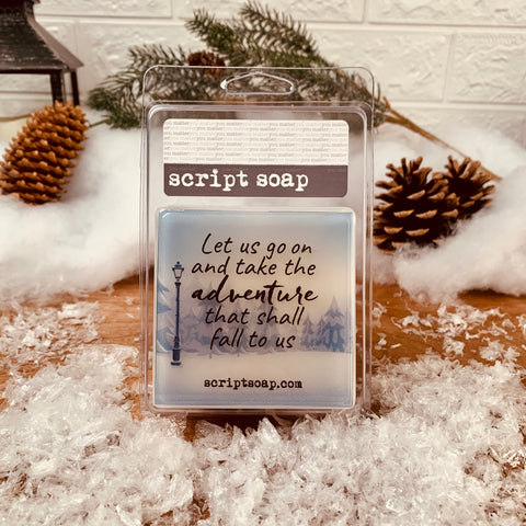LET US GO ON AND TAKE THE ADVENTURE... Script Soap