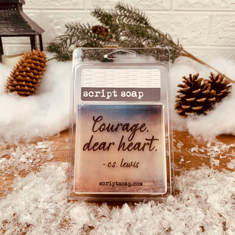 COURAGE, DEAR HEART Script Soap