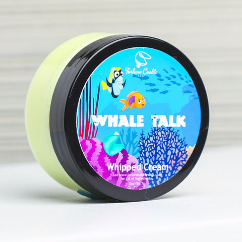 WHALE TALK Whipped Cream - Fortune Cookie Soap - 1