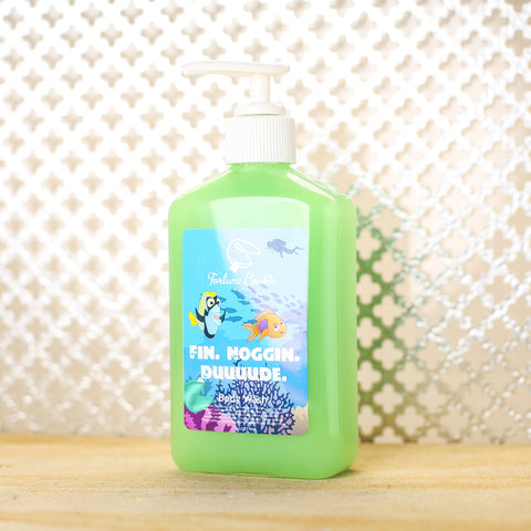 FIN. NOGGIN. DUUUDE. Body Wash - Fortune Cookie Soap - 1