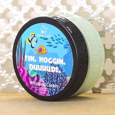 FIN. NOGGIN. DUUUDE. Whipped Cream - Fortune Cookie Soap - 1