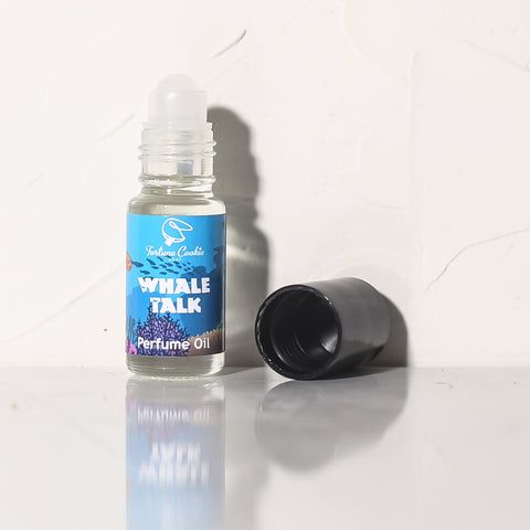 WHALE TALK Roll On Perfume Oil - Fortune Cookie Soap
