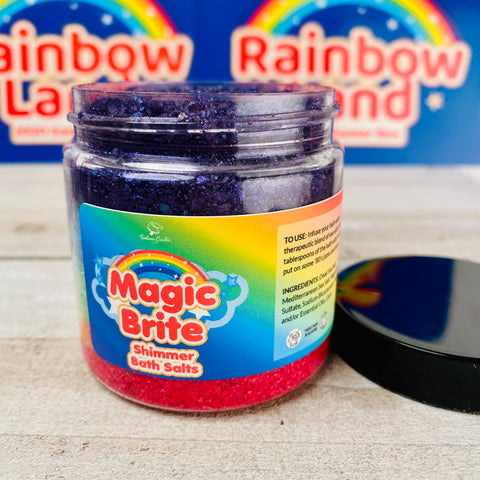 MAGIC BRITE Rainbow Shimmer Bath Salts
