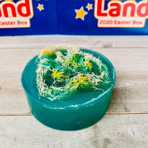 GREEN GRANGE Loofah Bar Soap