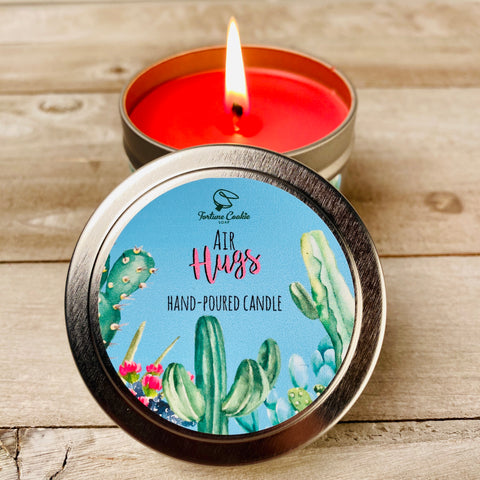 AIR HUGS Hand Poured Soy Candle