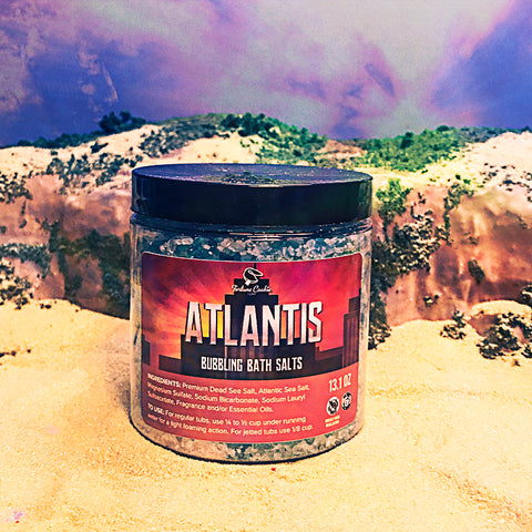 ATLANTIS Bubbling Bath Salts
