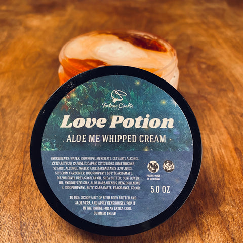 LOVE POTION Aloe Me Whipped Cream
