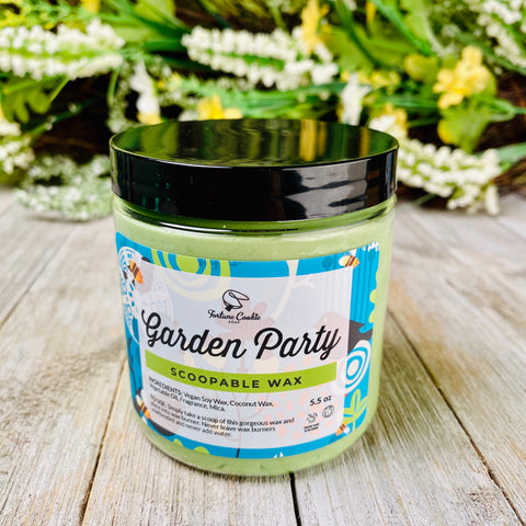 GARDEN PARTY Scoopable Wax