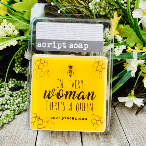 IN EVERY WOMAN THERE'S A QUEEN Script Soap