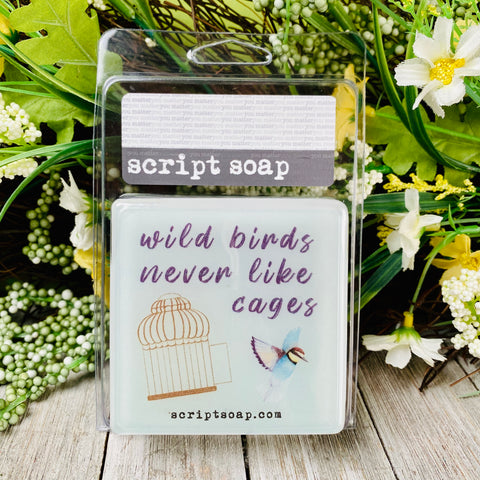 WILD BIRDS NEVER LIKE CAGES Script Soap