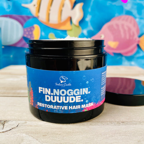 FIN. NOGGIN. DUUUDE. Restorative Hair Mask