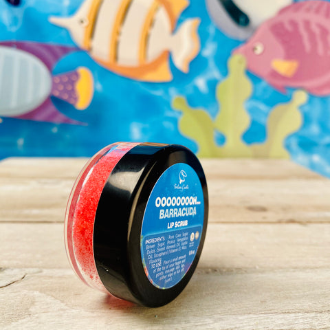 OOOOOOOOH... BARRACUDA Lip Scrub