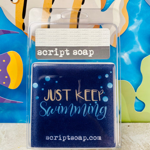 JUST KEEP SWIMMING Script Soap