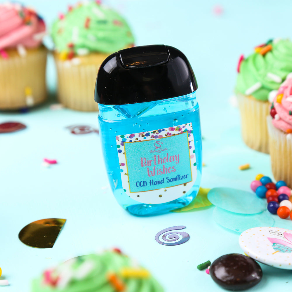 Birthday Wishes Ocd Hand Sanitizer Fortune Cookie Soap
