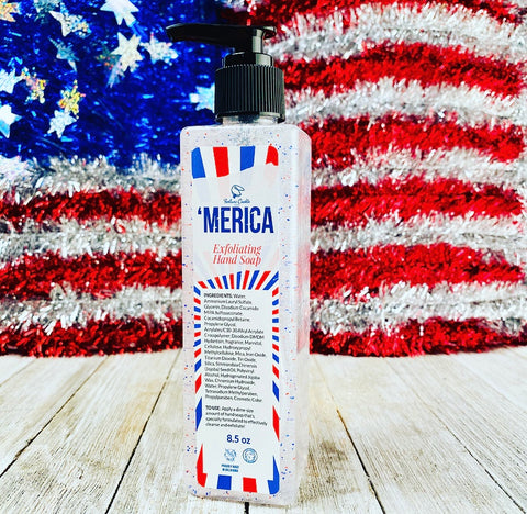 'MERICA Exfoliating Hand Soap #WW