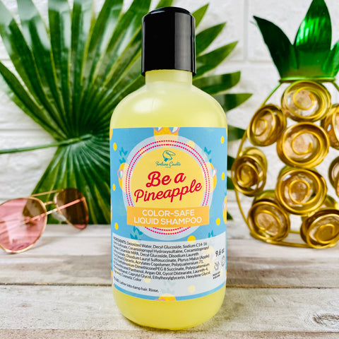 BE A PINEAPPLE Liquid Shampoo COLOR SAFE