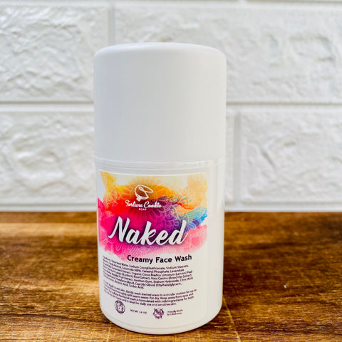NAKED Creamy Face Wash (UNSCENTED)