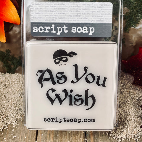 AS YOU WISH Script Soap
