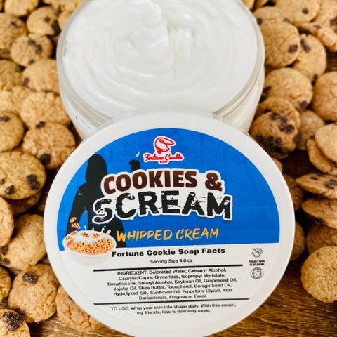 COOKIES & SCREAM Whipped Cream