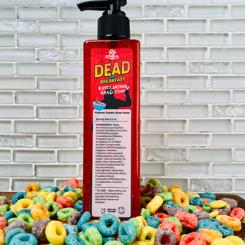 DEAD AND BREAKFAST Exfoliating Hand Soap