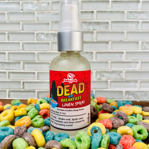 DEAD AND BREAKFAST Linen Spray