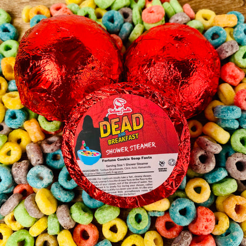 DEAD AND BREAKFAST Shower Steamers