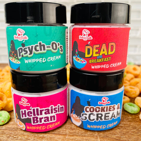 CEREAL KILLER Whipped Cream Sampler