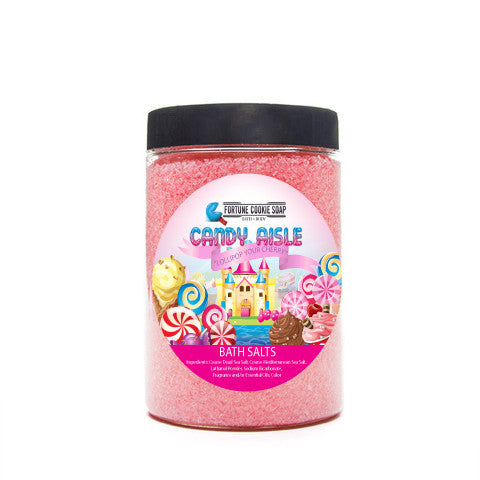 Lollipop Your Cherry Bath Salts - Fortune Cookie Soap