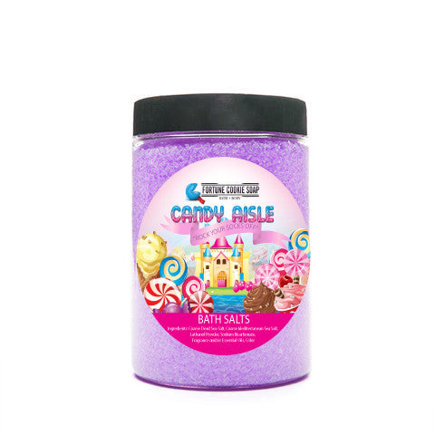 Rock Your Socks Off Bath Salts - Fortune Cookie Soap