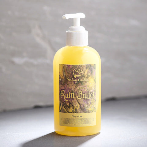 RUM BUTTER Liquid Shampoo - Fortune Cookie Soap