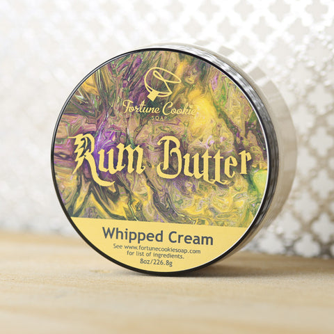 RUM BUTTER Whipped Cream - Fortune Cookie Soap - 2