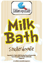 Snickerdoodle Milk Bath (12.5 oz) - Fortune Cookie Soap