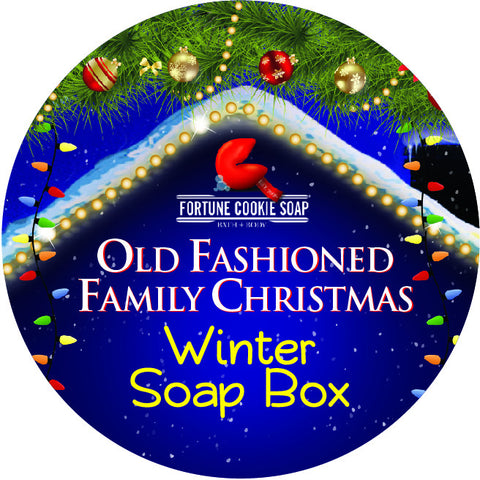 Old Fashioned Family Christmas Soap Boxes! - Fortune Cookie Soap