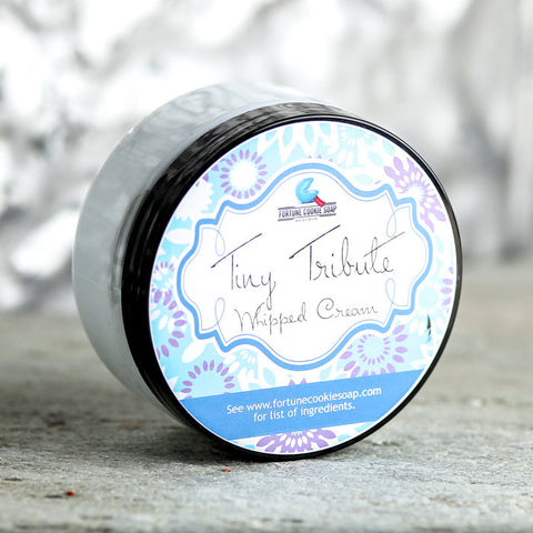 TINY TRIBUTE Whipped Cream - Fortune Cookie Soap - 2