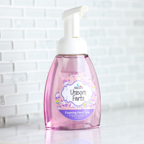 UNICORN FARTS Foaming Hand Soap - Fortune Cookie Soap - 1