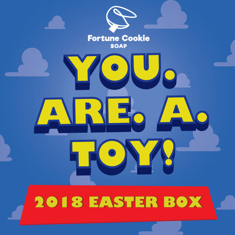 You. Are. A. Toy. Easter Box 2018 INTERNATIONAL & CANADA ONLY