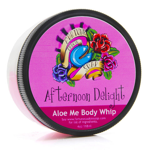 Afternoon Delight Aloe Me Body Whip - Fortune Cookie Soap