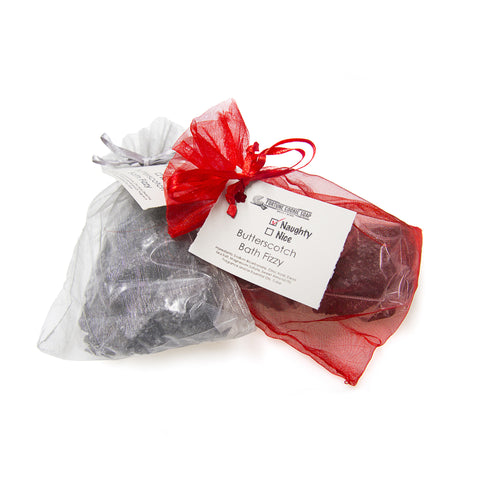 Naughty/Nice Bath Bomb - Fortune Cookie Soap - 1