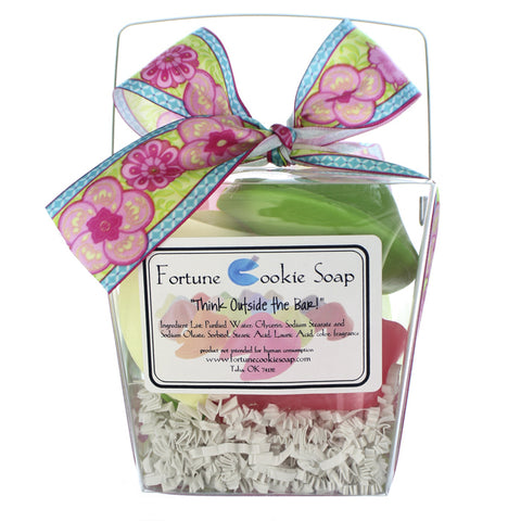 Apple Of My Eye Bath Gift Set - Fortune Cookie Soap - 1