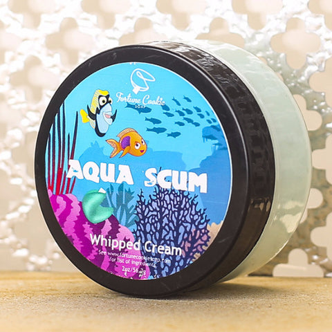 AQUA SCUM Whipped Cream - Fortune Cookie Soap - 1