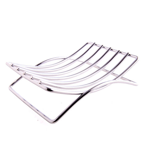 Stainless Steel Soap Dish Bath Accessory - Fortune Cookie Soap